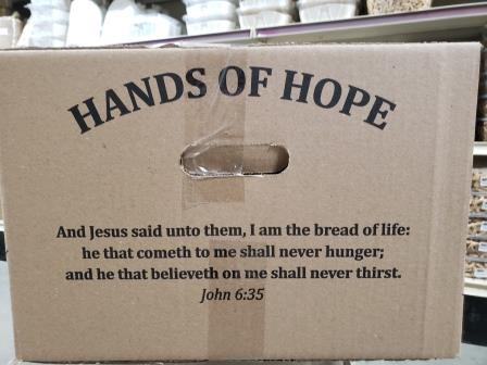 Hands of Hope Community Food Boxes 3